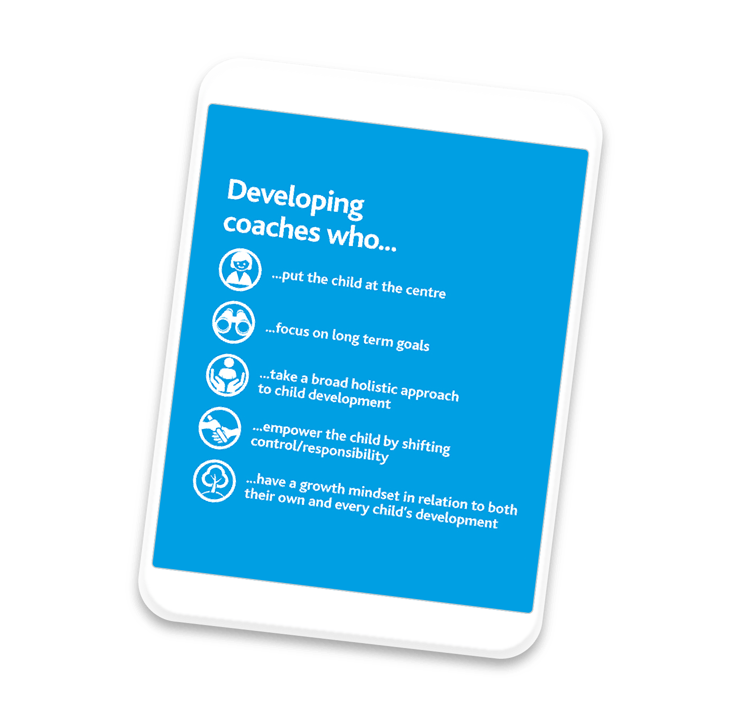 Transforming coaching habits to develop children's essential learning behaviours
